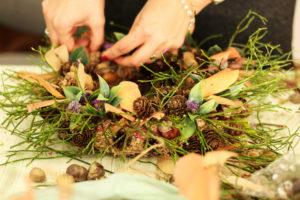 Warsztaty florystyczne - jesienne wianki